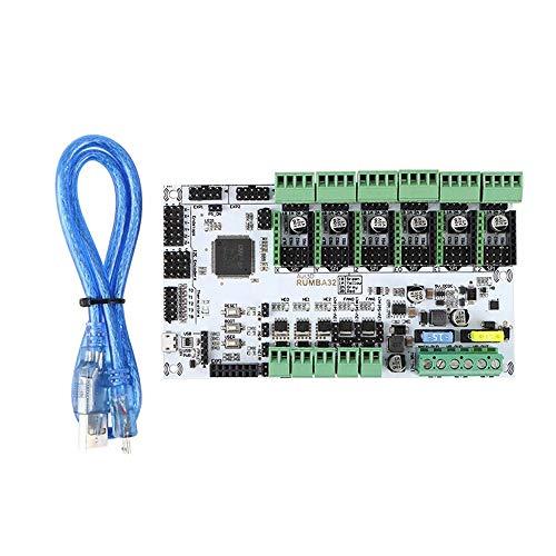 SongMyao Led-Schminkspiegel 3D-Drucker 32-Bit-Control-Mainboard kompatibel Marlin 2.0 (Color : Green, Size : One Size)