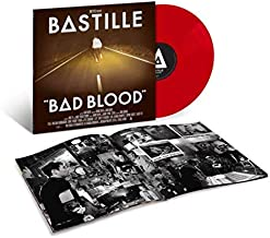 Bad Blood - Exclusive Limited Edition Translucent Red Colored Vinyl LP