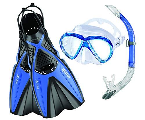 Mares X-One Marea - Set de Buceo, Color Azul, Talla M-L