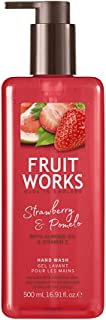 Fruit Works Strawberry & Pomelo Cruelty Free & Vegan Hand Wash With Natural Extracts 1x 500ml