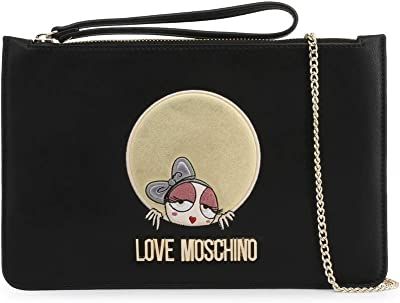 Love Moschino Wrist Strap Clutch Bag in Black - black - NOSIZE