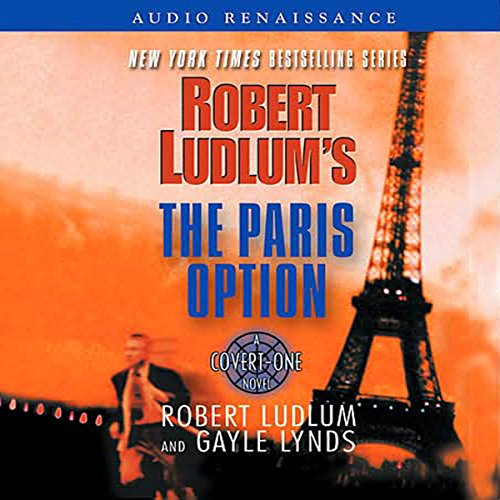 Robert Ludlum's The Paris Option audiobook cover art