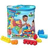 Mega Bloks Sac Bleu, jeu de blocs de construction, 60 pièces, jouet pour bébé et enfant de 1 à 5...