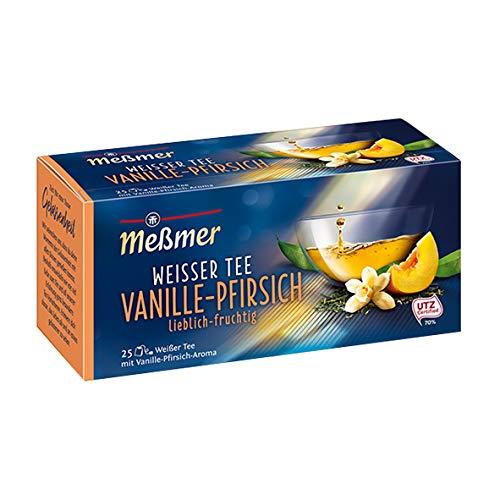 Meßmer weißer Tee Vanille+Pfirsich 25Btl
