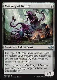 Magic: the Gathering - Mockery of Nature (010/205) - Eldritch Moon