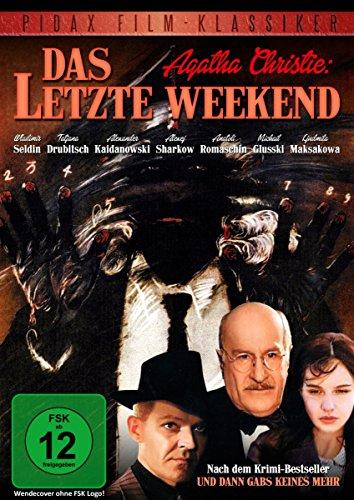 Agatha Christie: Das letzte Weekend (Das letzte Wochenende) / Spannende, originalgetreue Verfilmung des Agatha-Christie-Bestsellers UND DANN GABS KEINES MEHR (Pidax Film-Klassiker)