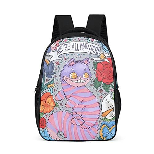Cheshire - Mochilas para mujer y hombre, diseño de gato