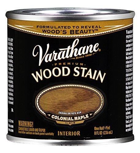 Rust-Oleum 211759 Varathane, Half Pint, Colonial Maple