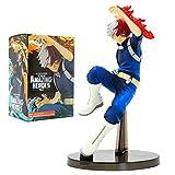 ALTcompluser My Hero Academia PVC Figur Todoroki Shoto Bakugou Katsuki Statue Actionfigur Sammelfigur 15 cm, Idee Geschenk(Todoroki Shoto) -
