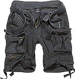 Brandit Savage Vintage Shorts Pantalones Cortos, Schwarz, L para Hombre