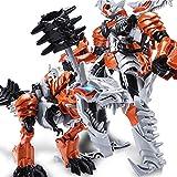 Action Figures Giocattolo Robot Auto Deformato Lega Personaggio Modello Auto Giocattolo Animazione Personaggio ABS Che può Cambiare Forma,Grimlock