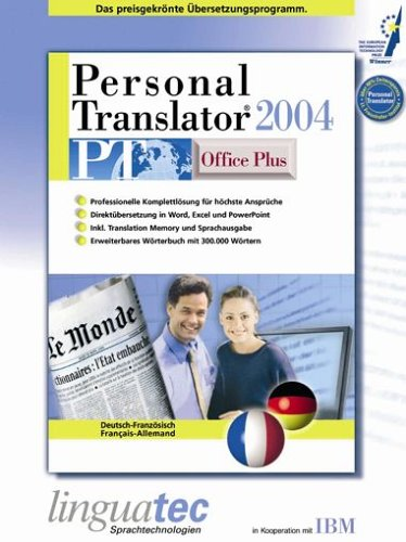 Personal Translator PT 2004 Office Plus Französisch