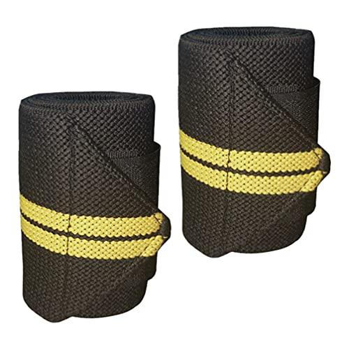 ABOOFAN 2 brazaletes de tobillo de pesas de muñeca con correas de anillo de peso, soporte de muñeca para yoga, baile, pilates, cardio, estiramiento, caminar, correr, aeróbicos