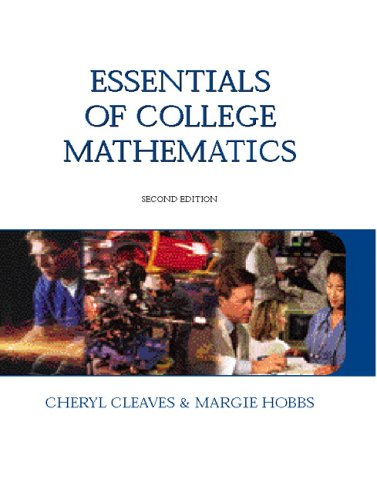 Essentials of College Mathematics (2nd Edition)