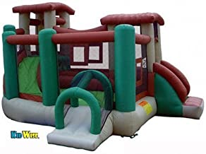 KIDWISE Clubhouse Climber Bounce House