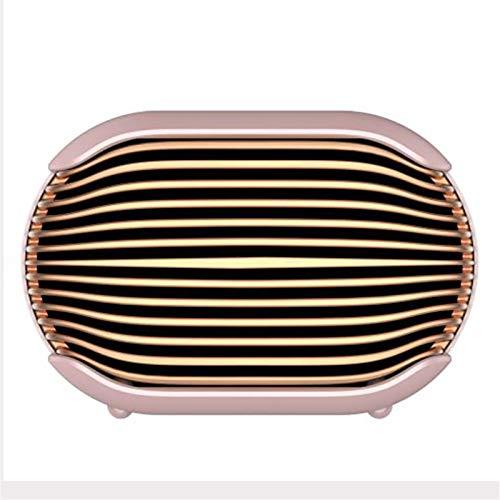 Personal Space Heater, Cartoon Mini Portable Heater Fast Heating Portable Space Heaters Fan for Office Desktop Home Bedroom (Pink)