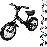 Deuba Kinderlaufrad Kinder Fahrrad|10 – 12 Zoll | von 2-4 Jahren | höhenverstellbar |Lauflernrad Lernlaufrad