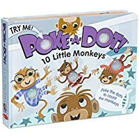 Poke-a-Dot: 10 Little Monkeys Board Book