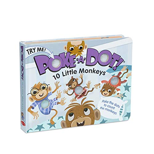 Poke-a-Dot: 10 Little Monkeys - $5.99