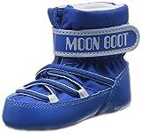 Moon Boot Crib, Scarpine Neonato Unisex-Bambini, Turchese (Blu Chiaro), 17/18 EU