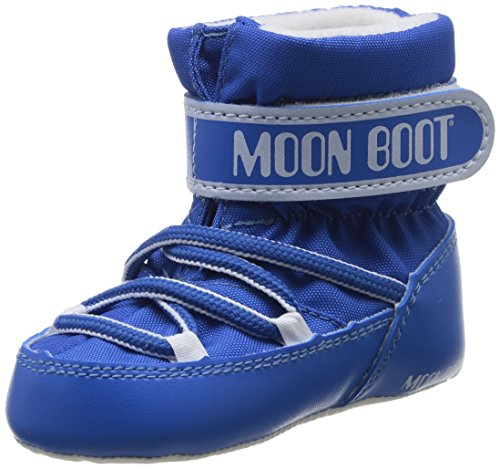 Moon Boot - Bottes d'hiver - MOON BOOT CRIB - Taille EUR 17 - Couleur Bleu