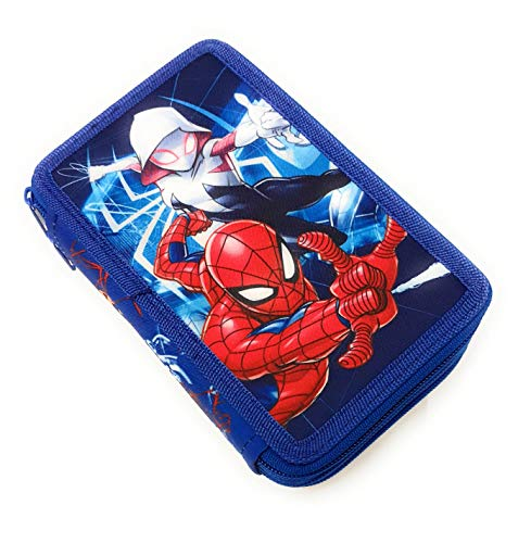 Spiderman - Astuccio Attrezzato 3 Scompartimenti