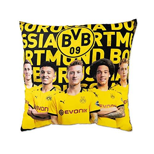 Borussia Dortmund BVB-Spielerkissen (40x40cm) one Size