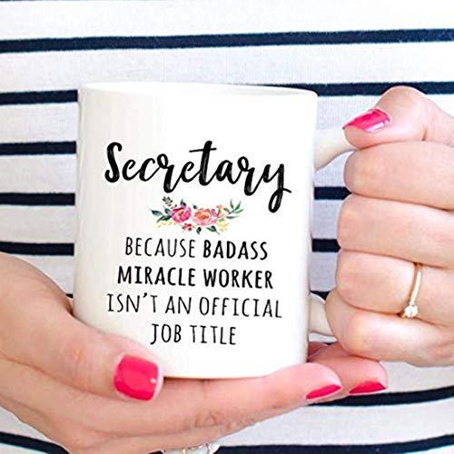 Regalo para Secretario, divertido Secretario taza de café