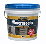 DAMTITE WATERPROOFING 01211 Maximum Coverage White Powder Waterproofer, 21 lb, White
