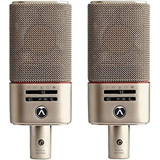 scheda austrian audio oc818 live pack - 2x oc818 microfoon, incl. spider en klem
