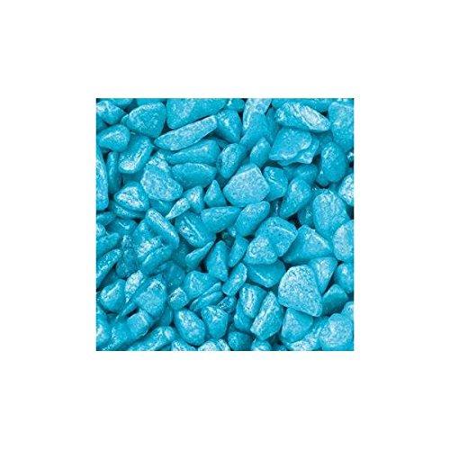 Pierres de décoration, gravier, 5–8 mm, turquoise, 1 kg dans le sac, (1,95 €/kg) Season