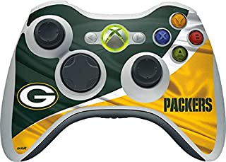 Skinit Decal Gaming Skin for Xbox 360 Wireless Controller - Officially Licensed NFL Green Bay Packers Design