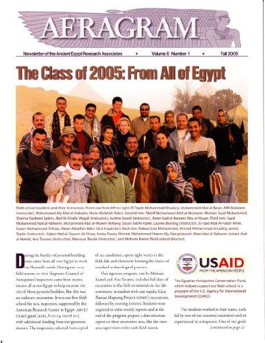 AERAgram 8.1 Fall 2006 (English Edition)