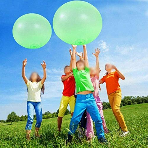 VERONNI 27 Inch Bubble Ball Water Balloon Toy for Adults Kids Inflatable Water Ball Beach Garden Ball Soft Rubber Ball for Outdoor Party