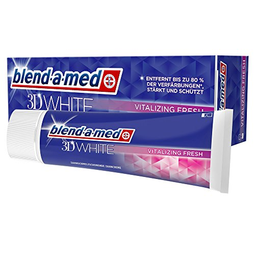 Blend-a-med 3DWhite Vitaliserende frisse tandpasta 75 ml
