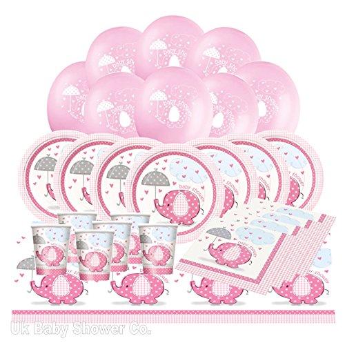 Bébé douche Essential Pack de Fête de Rose umbrellephant Gamme