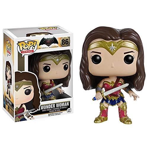 XR POP DC Batman v Superman Justice League Wonder Woman película personaje de dibujos animados hecho a mano modelo muñeca decoración adornos