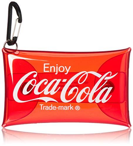 [コカ・コーラ] コカ・コーラ クリアマルチケース カードケース キーケース クリアケース MCC-074b レッド(MCC-074)
