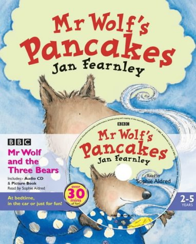Mr Wolf's Pancakes (Book & CD)