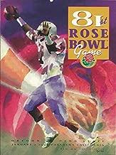 81st Rose Bowl Game - Oregon Vs. Penn State - January 2, 1995 - Pasadena, California - 1995 Rose Bowl Game Official Souvenir Magazine
