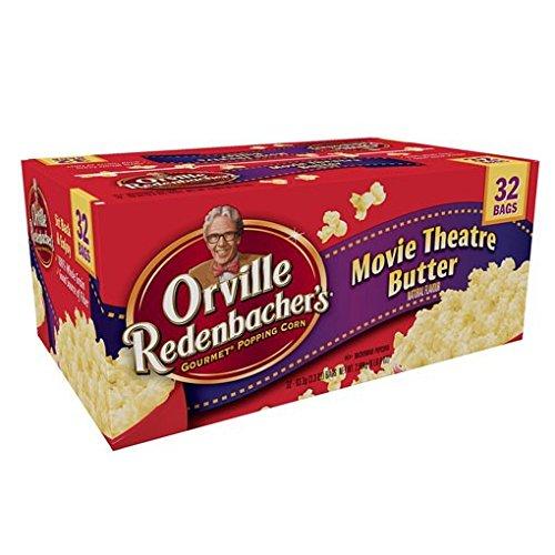 Orville オービル ムービーシアターバターポップコーン 93g×32袋 レンジで簡単ポップコーン