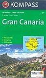 Kompass Karten, Gran Canaria: Wandelkaart 1:50 000 (KOMPASS-Wanderkarten, Band 237) - KOMPASS-Karten GmbH