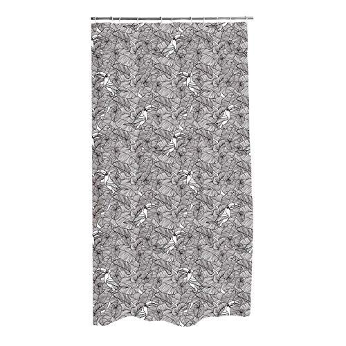 Douceur d'Intérieur Duschvorhang, Amazonia, 100prozent Polyester, Mehrfarbig, 180 x 200 cm