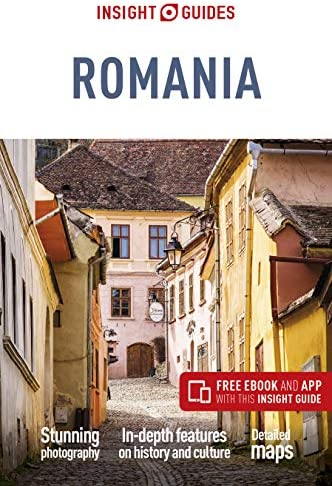 Insight Guides Romania Travel Guide with Free eBook product image