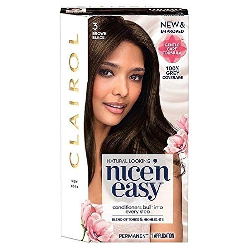運動でるディベート[Nice'n Easy] 黒茶色のNice'N簡単3 - Nice'n Easy 3 Brown Black [並行輸入品]
