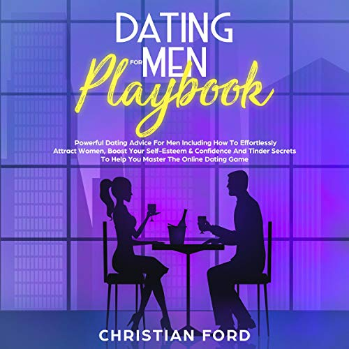 Dating for Men Playbook audiobook cover art
