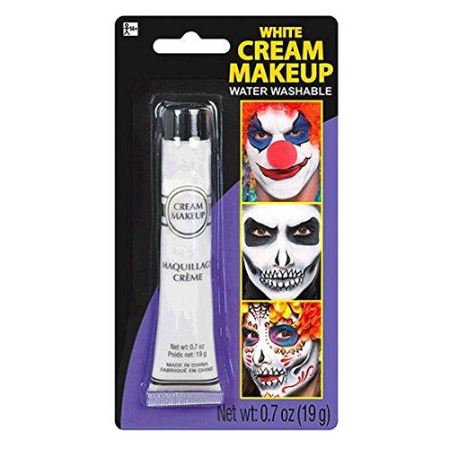 amscan White Cream - Makeup Costume Accessory