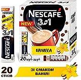 NESCAFE 3 in 1 Vanilla 20 sticks Instant Coffee Drink