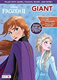 Disney Frozen 2 Elsa and Anna Giant 192-Page Coloring and Activity Book with Over 100 Stickers and a Poster 45820 Bendon