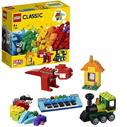 LEGO Classic - Ladrillos e Ideas, manualidades para niños y niñas para construir a partir de 4 años (11001)